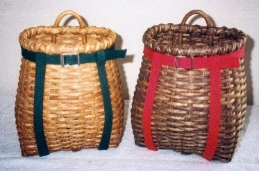 Small Back Pack Basket