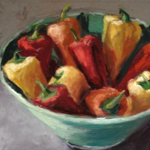 Peppers in a Bowl