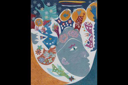 """Blue Lady"" by Christine Alexander"