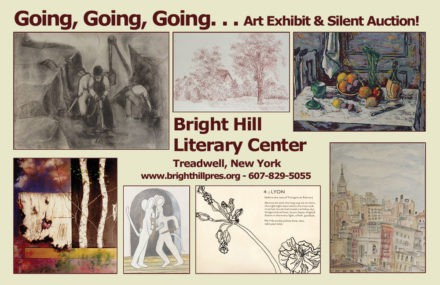 Bright Hill Literary Center Stagecoach 2017 postcard