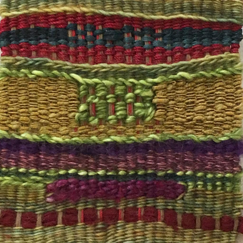 untitled weaving by Aliki Potiris