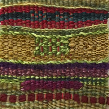 untitled weaving by Aliki Potiris