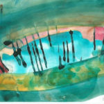 unttled watercolor by Barbara Ardan