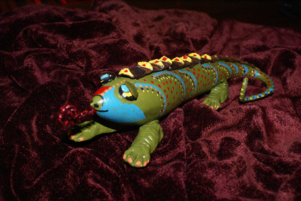 Lizard by Muffy McDowell and Harry Barnes