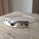 Sterling Onyx Bracelet by Karin Bremer