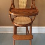 Antique Caned Chair by Martha Bremer