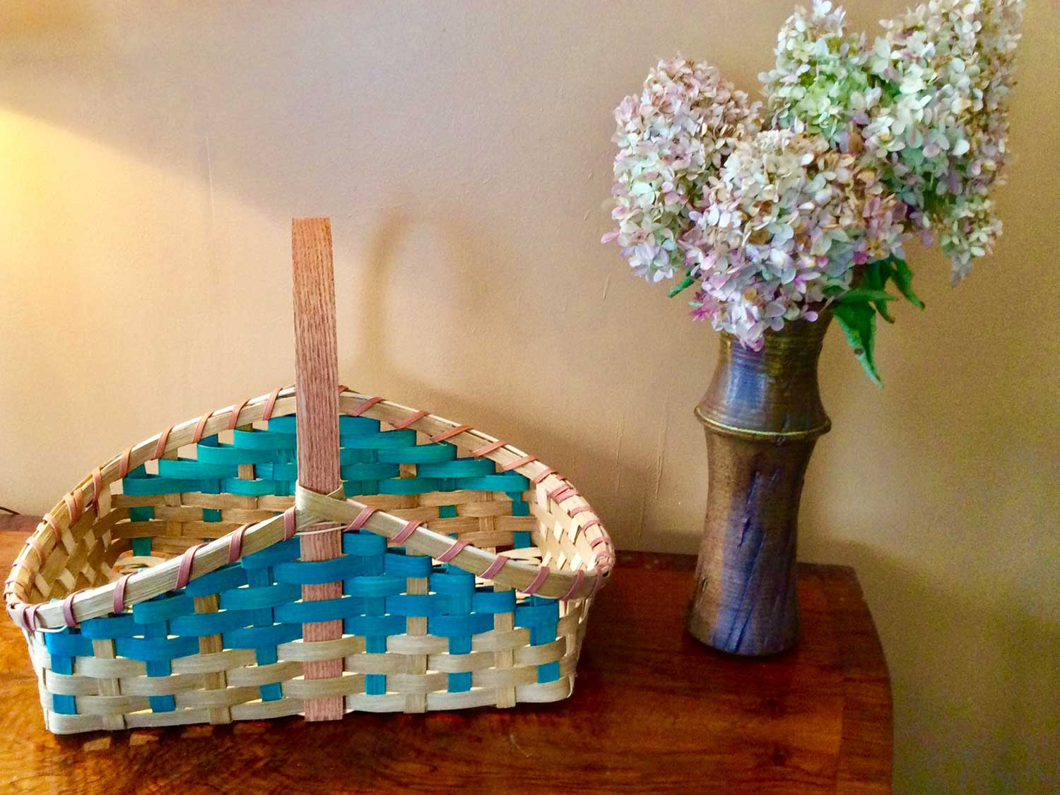 Hearth Basket by Martha Bremer