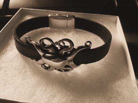 Octopus Bracelet by Denise Burkert