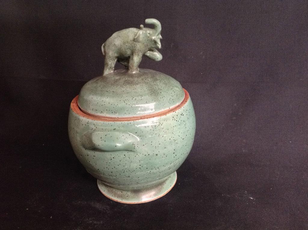 Elephant Jar by Rhonda Engel