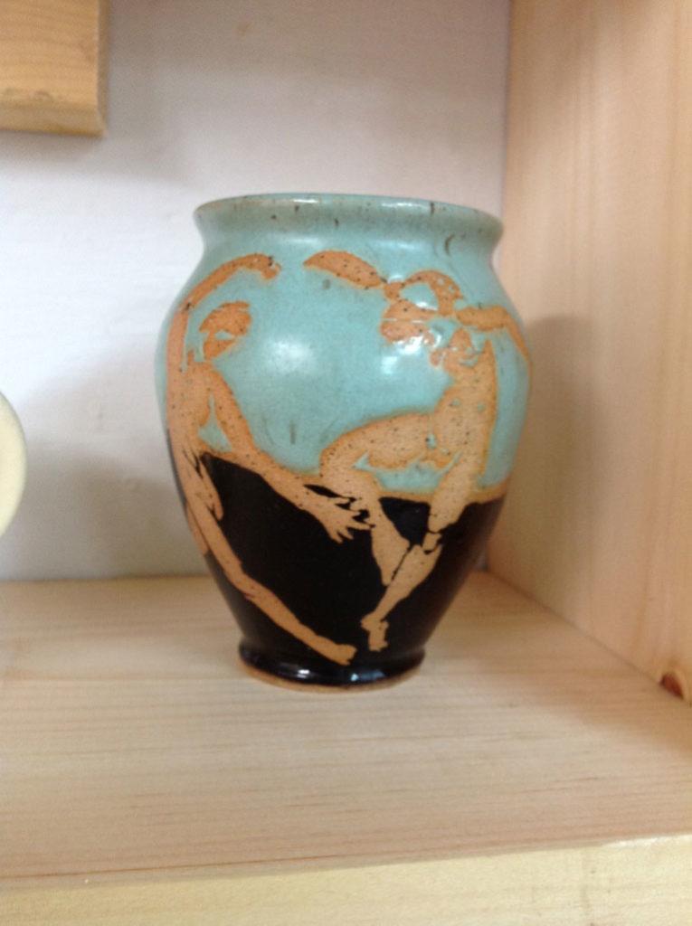 Matisse Jar by Rhonda Engel