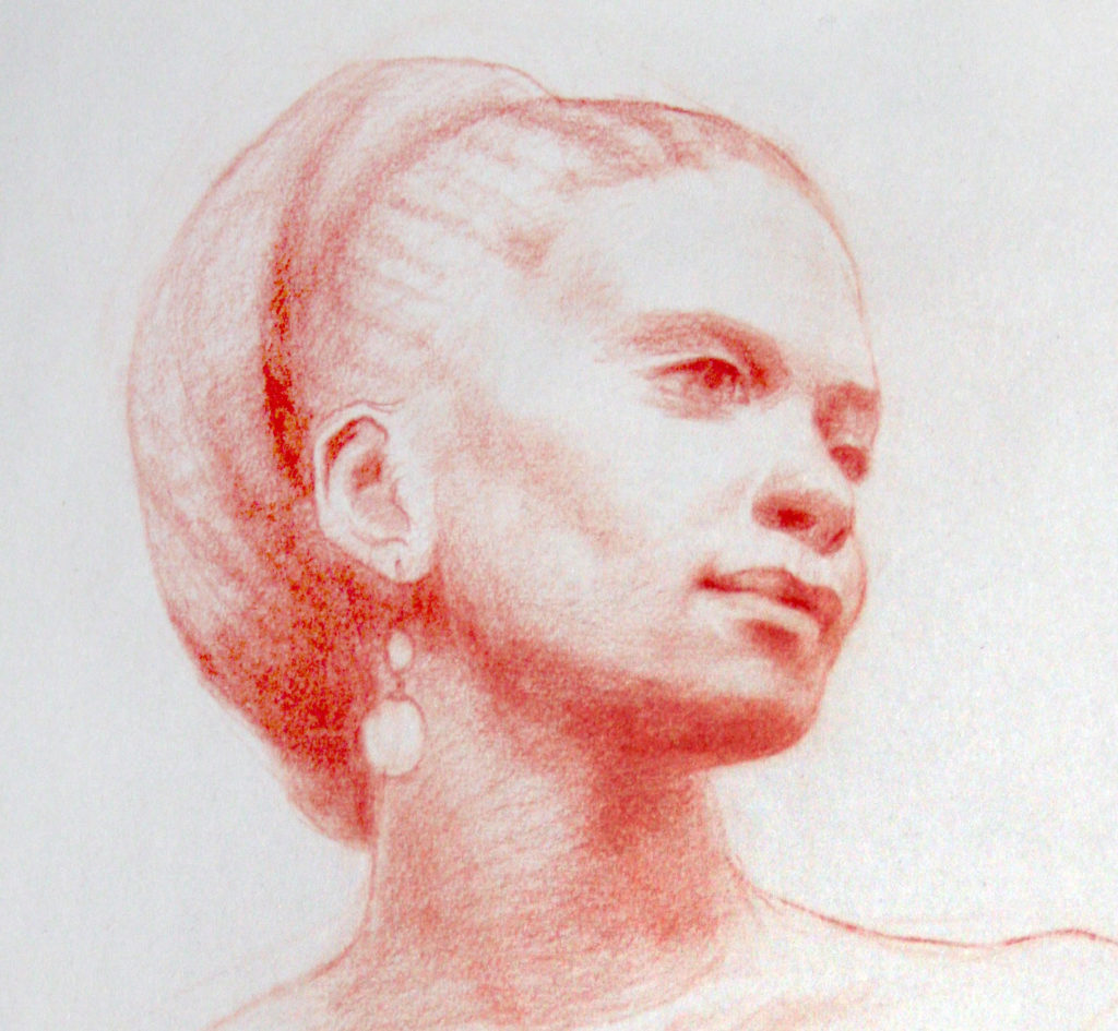 Head Study by Janet Wentworth Erickson