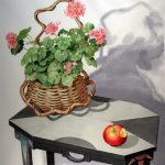 Geranium and Apple by Sondra Freckleton