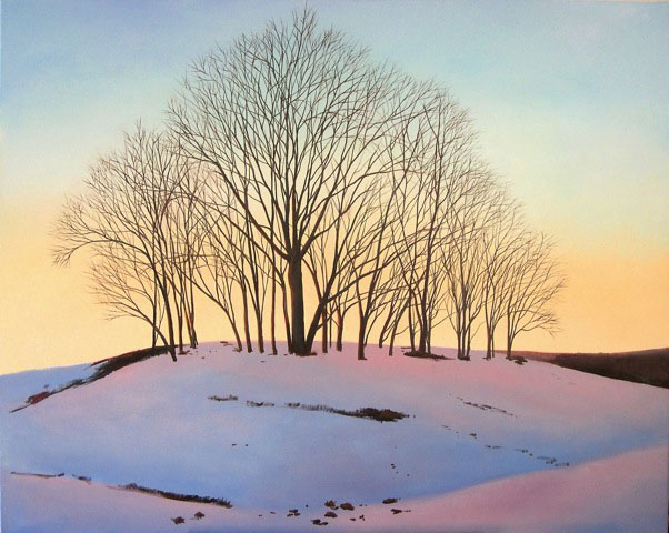 Winter Trees by Elissa Gore