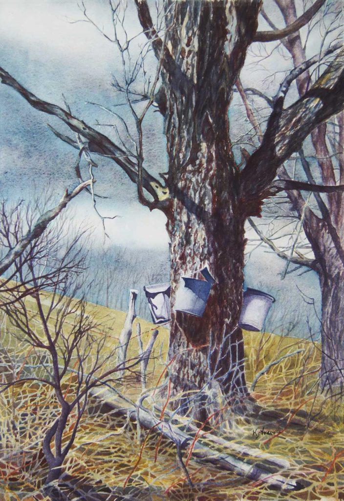 Tapping Roadside Sentinels by Karen Graves