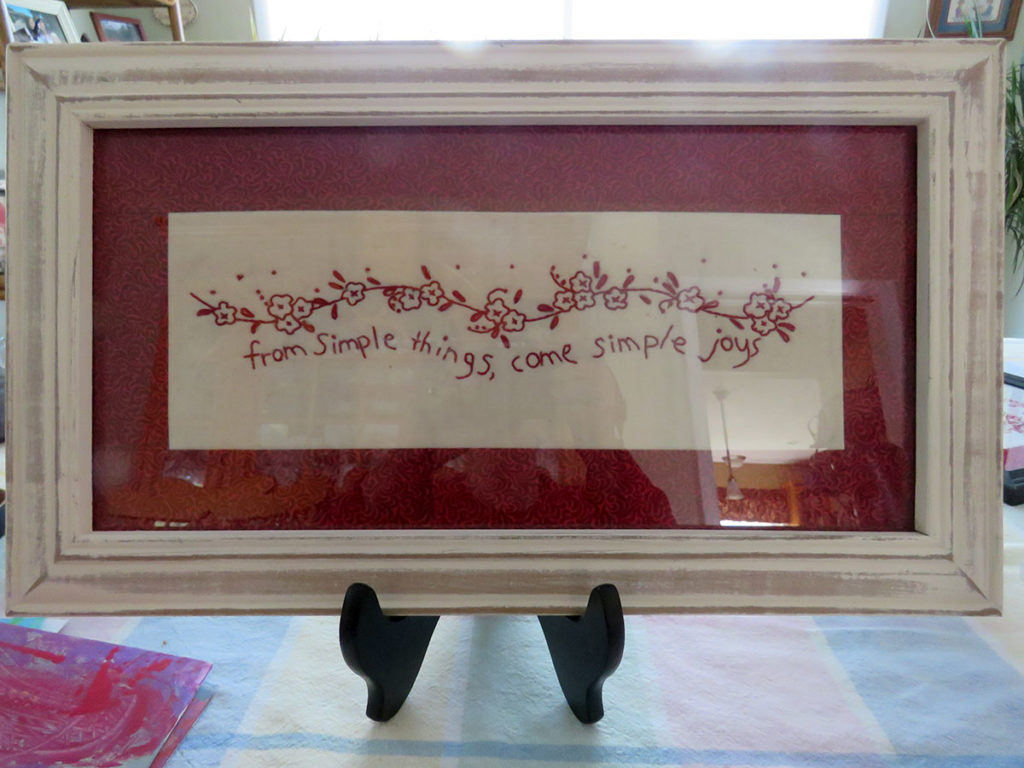From Simple Things, Come Simple Joys by Patricia Gumo