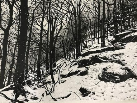 Winter Evening by Amy Silberkleit